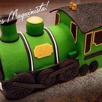 Old train cake