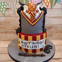 Harry Potter cake for Keelen