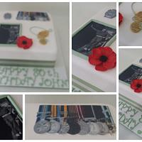 80 th Birthday Cake