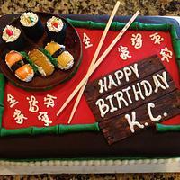 Who wants sushi?! by Manuel Pruitt