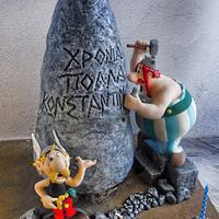 Asterix and Obelix cake