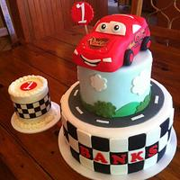 Cars Themed 1st Birthday