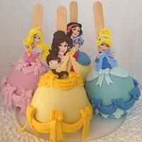 Disney Princess Chocolate Apple