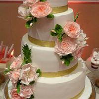 Wedding Cake & dessert table
