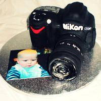 Camera cake  by Time for Tiffin