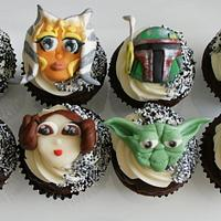 Star Wars cupcakes by Mili
