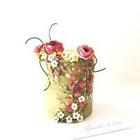 Flower Cake.