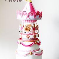 Carousel Themed Cake
