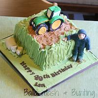 Butter Iced Farm cake