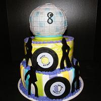 Disco/Dance Party Cake