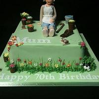 Grandma's Gardening Cake