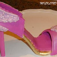 GUMPASTE STILLETO SHOE