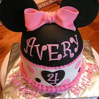 Minnie Mouse for Avery