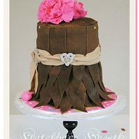 Leather Skirt Cake