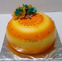 indo western cake