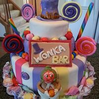 Wonka cake by Patty's Cake Designs