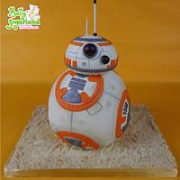 BB8 cake (Star Wars)