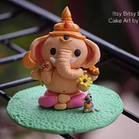 Fondant Cake Topper-Lord Ganesha