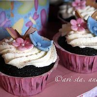 Barbie Doll Cake/Cupcake by ALotofSugar