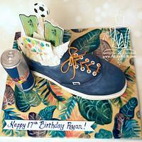 Birthday Van Shoe
