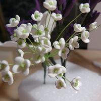 SUGAR FLOWERS I AM LEARNING  by gail