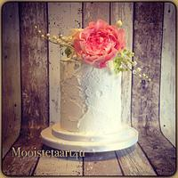 Rustic weddingcake...