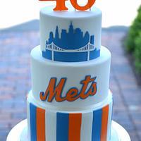 NY Mets Cake