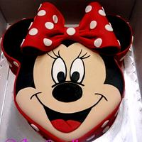 Minnie Mouse cake by stefanelli torte