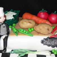 Cake - Chef and food