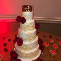 Sweet 15 Birthday Cake