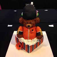 Great British Bear - Cake International Entry 2013 by Kelly Castledine - Kelly's Cakes & Tasty Bakes
