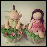 Enchanted Garden Cupcakes