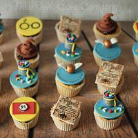 Harry Potter inspired cupcakes