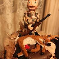 Hunting/Camo Cake