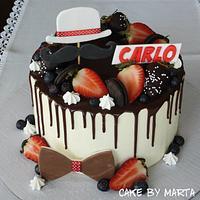 Drip cake for Carlo