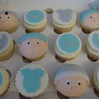Baby Faces Cupcakes by Sam's Cupcakes