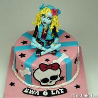 Monster High Lagoona Blue Cake