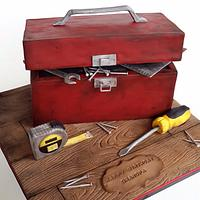A well used toolbox