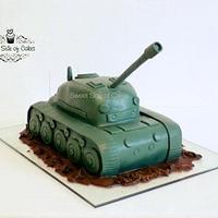 A Tank Cake