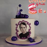 Marie Curie Cake (CPC Collab Purple)