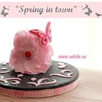 Spring in town by Antonella