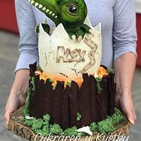 Dinosaurus cake