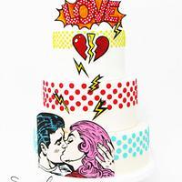 POP ART cake