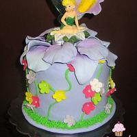 Tinkerbell Cupcakes