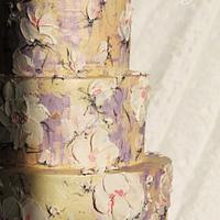 Cream fantasy Weddingcake