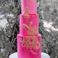 Fifteen cake