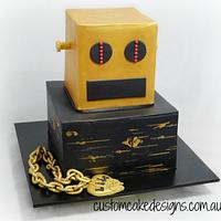 LMFAO ShuffleBot Dance Party Cake