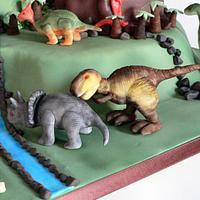 Dinosaur Cake by Sweet Fusion Cakes (Anjuna)
