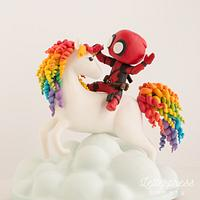 Deadpool + Unicorn