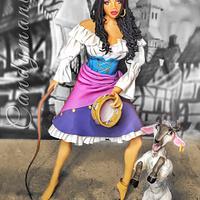 """""""Esmeralda""""- Disney Deviant Sugar Art Collaboration"""